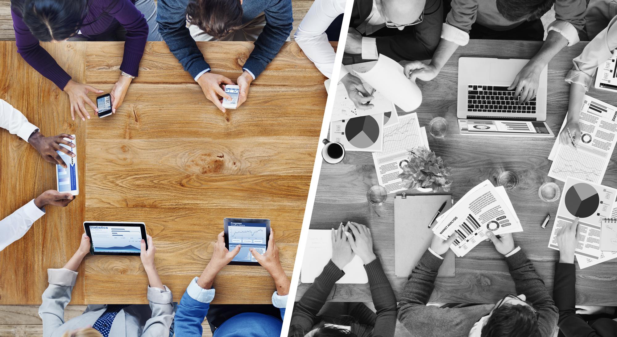 Technologie im Konferenzraum: Ja oder Nein