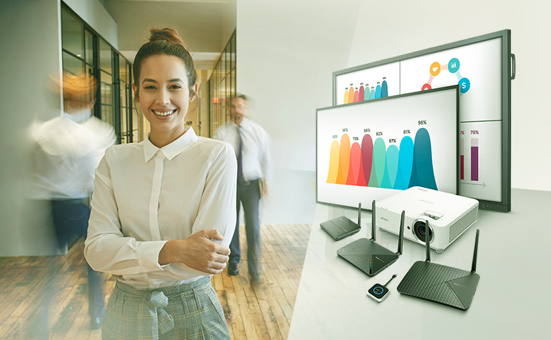 Novo Ecosystem – the wireless collaboration and digital signage solution