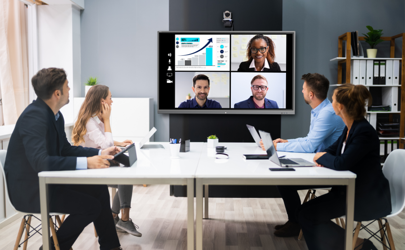 "Touchless & hybrid meetings – the ""new wireless normal"""